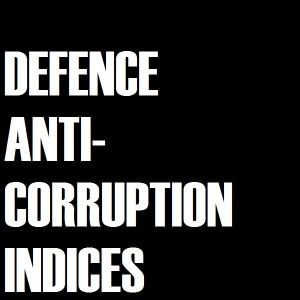 3-1-1 Korruptionindizes - Defence Anti-Corruption Indicex