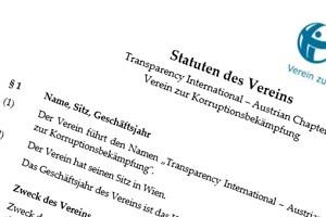 Vereinsdokumente - Grundsatzdokumente