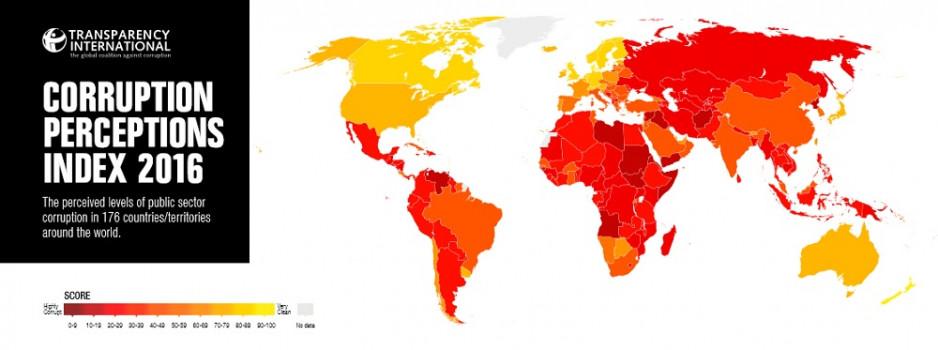 Ende des Aufwärtstrends: Österreich im weltweiten Korruptionswahrnehmungsindex nur noch auf Rang 17