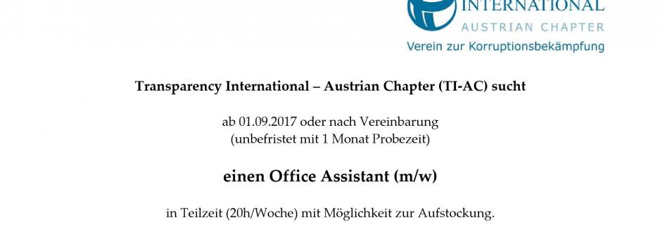 Office Assistant (m/w) gesucht